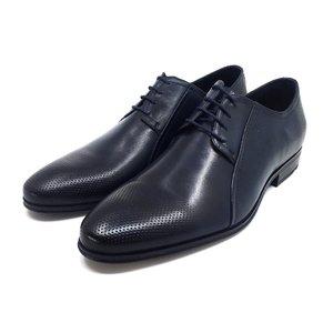Pantofi eleganti barbati din piele naturala,Leofex - 743 * Blue box