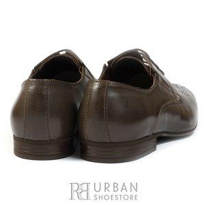 Pantofi eleganti barbati din piele naturala,Leofex - 779-1 taupe inchis box