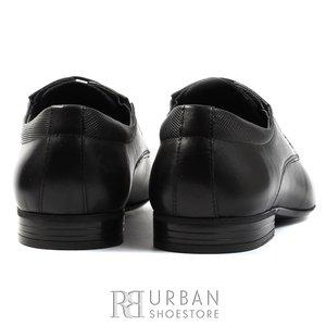 Pantofi eleganti barbati din piele naturala,Leofex - 793 negru box
