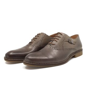 Pantofi eleganti barbati din piele naturala,Leofex - 824  gri box