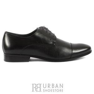 Pantofi eleganti barbati din piele naturala,Leofex - 832 negru box