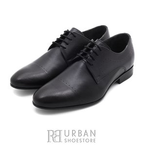 Pantofi eleganti barbati din piele naturala,Leofex - 885 negru box