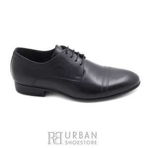 Pantofi eleganti barbati din piele naturala,Leofex - 896 negru box
