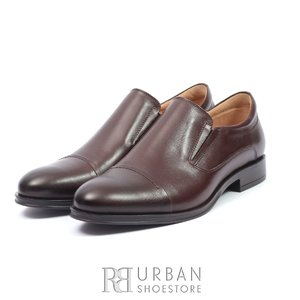 Pantofi eleganti barbati din piele naturala, Leofex - 970 Maro box