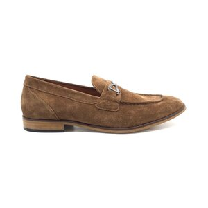 Pantofi eleganti barbati din piele naturala, Leofex - Mostra Stefan maro velur