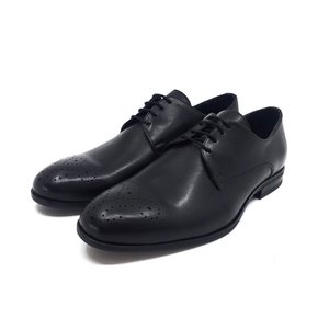 Pantofi eleganti barbati din piele naturala, Leofex - 898-1 Negru Box