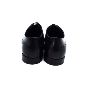Pantofi eleganti pentru barbati din piele naturala Leofex - 510 negru Box