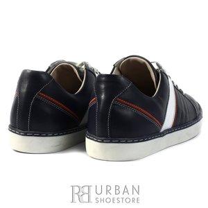 Pantofi sport barbati din piele naturala, Leofex - 849 blue box