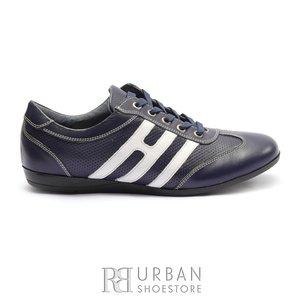Pantofi sport dama din piele naturala, Leofex- 552 S Blue box