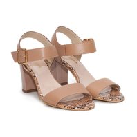 Sandale din piele naturala Teneva