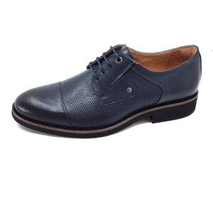 Pantofi barbati casual din piele naturala Leofex- 574 Blue Box