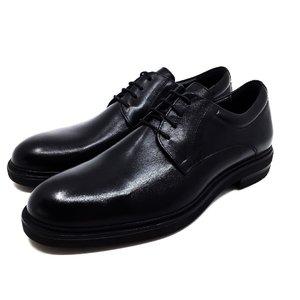 Pantofi barbati din piele naturala Leofex - 998-1 Negru Box