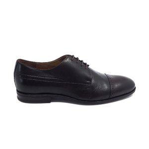 Pantofi barbati eleganti din piele naturala Leofex- 510-1 Maro Box
