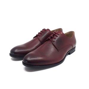 Pantofi barbati eleganti din piele naturala Leofex - 831 Visiniu Box