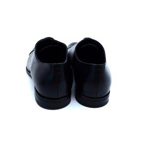 Pantofi barbati eleganti din piele naturala Leofex- 934 Negru