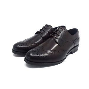 Pantofi barbati eleganti din piele naturala Leofex-977 Mogano Box