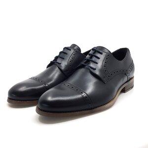 Pantofi barbati eleganti din piele naturala Leofex- mostra 42 blue box