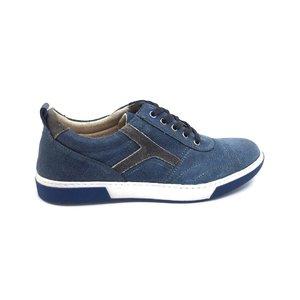 Pantofi barbati sport-casual din piele intoarsa - Mostra Horica Blue