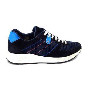 Pantofi barbati sport din piele intoarsa -Mostra 883 blue inchis velur