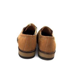 Pantofi barbaty derby din velur - Mostra 578 Taupe Nabuc