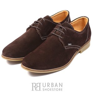 Pantofi casual barbati din piele naturala,Leofex - 578 maro velur