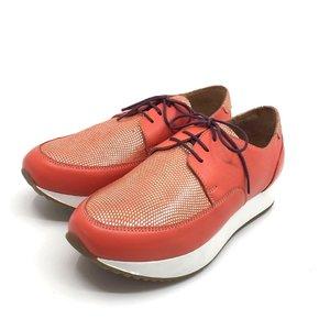 Pantofi casual dama-102 Coral Serigrafiat