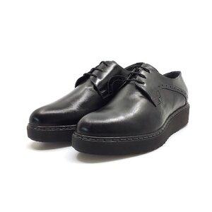 Pantofi casual dama din piele naturala,Leofex-365 Negru Box Florantic