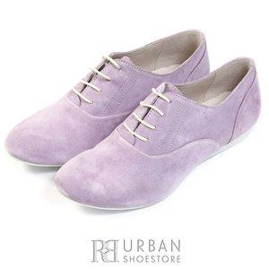 Pantofi casual din piele intoarsa - 451-1 mov