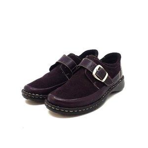 Pantofi casual din piele intoarsa -Mostra Ionela Mov Box Velur