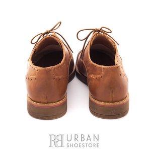 Pantofi casual din piele naturala - 094 cognac