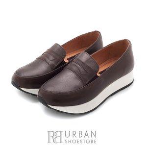 Pantofi casual din piele naturala - 100 taupe