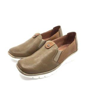 Pantofi casual din piele naturala - 106 taupe