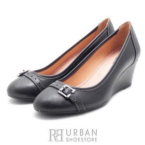 Pantofi casual din piele naturala - 275 negru