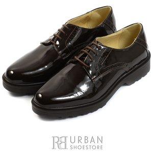 Pantofi casual din piele naturala - 615 maro