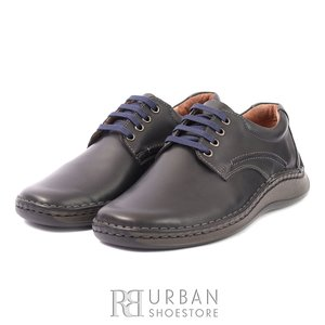 Pantofi casual din piele naturala - 918 Blue Box