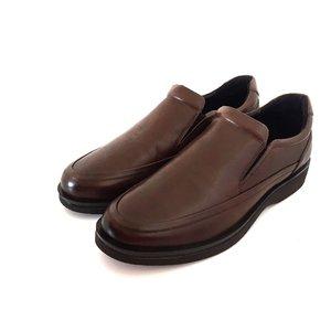 Pantofi casual din piele naturala- 964 Maro