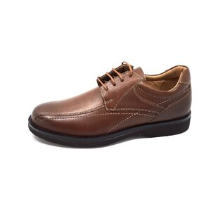 Pantofi casual din piele naturala cu varf patrat - Mostra Maro Olimpiu