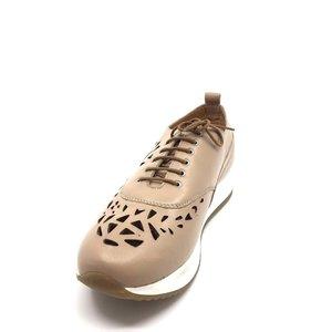 Pantofi Casual din piele naturala- Mostra Bej Box