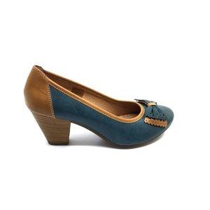 Pantofi casual din piele naturala - mostra Bejana
