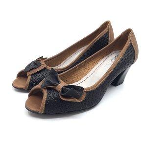 Pantofi casual din piele naturala - Mostra Blue - Maro