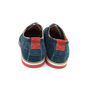 Pantofi Casual din Velur - Mostra 875 Avio