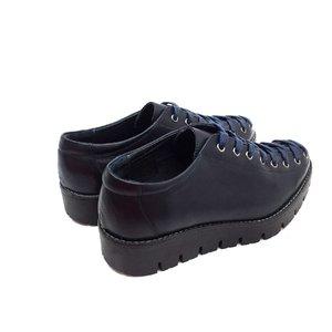 Pantofi cu siret pana in varf Leofex- 194 Blue Box