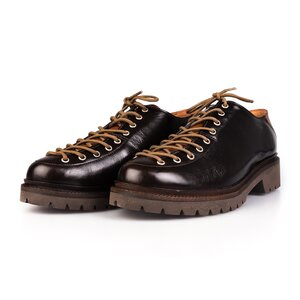 Pantofi cu siret pana in varf Leofex- 561 Maro Flor