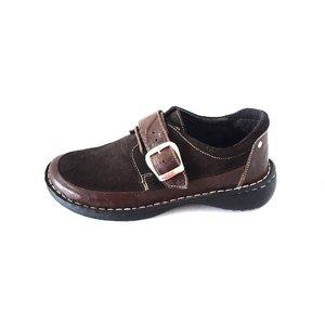 Pantofi dama casual din piele intoarsa -Mostra Ioana Maro Box Velur