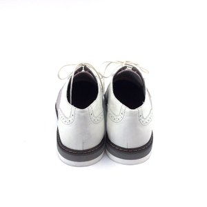 Pantofi dama casual din piele naturala - 230 Alb Plamaniu