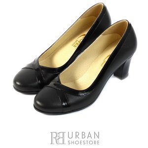 Pantofi dama din piele naturala Leofex - 751 negru