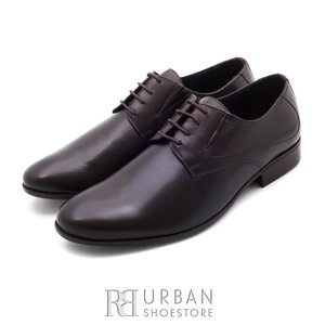 Pantofi Derby box - 690 maro