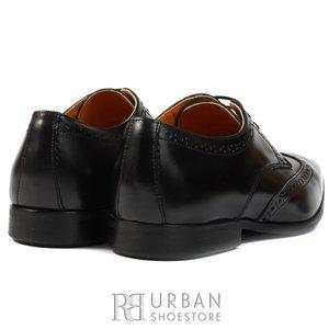 Pantofi Derby box - 1406 negru