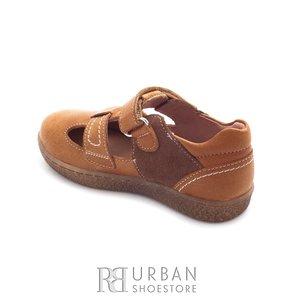 Pantofi din piele naturala – 120-1 camel box