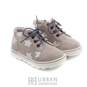 Pantofi din piele naturala – 128-1 taupe-velur